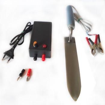КОМПЛЕКТ: Нож пасечный с электроподогревом и блок питания 12В
