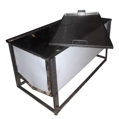 Стол для распечатывания сот 1,5 м ( с плоской корзиной FB, 0,5мм)