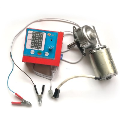 Привод M2 медогонки электрический червячный с алюминиевым корпусом евро, напряжение 12В
