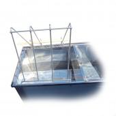 Подставка на стол для распечатывания рамок нержавеющая