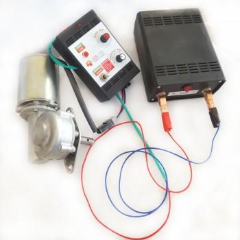 Эл.привод М1 + блок питания 12 В для электропривода от сети 220 В с функцией електронавощування