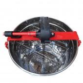 Медогонка 2-х рамочная не поворотная нержавеющая РКС (детали ротора, кассета сварная - из нержавеющей стали)