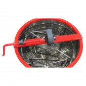 Медогонка 2-х рамочная алюмоцинковая с поворотными кассетами из оцинкованной стали