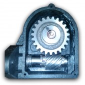 Медогонка 2-х рамочная из нержавеющей стали с поворотными кассетами из нержавеющей стали (периметр) и сеткой из оцинкованной проволоки