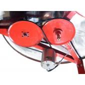 Медогонка 6-рамочная (ременной электропривод) с самооборачивающимися кассетами