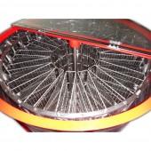 Медогонка 16-ти рамочная автоматическая ( электропривод ) полуповоротная под рамку Дадан