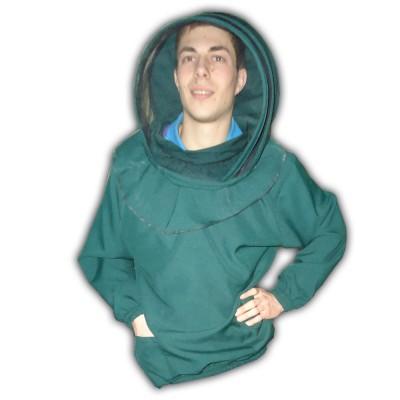 """Куртка пчеловода с маской """"евро"""""""