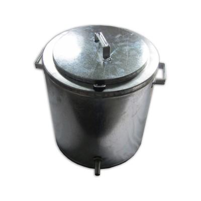 Воскотопка паровая 17 литров. Оцинкованная