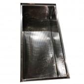 Воскотопка под парогенератор нержавеющая (0,8мм) - 1м  с плоской корзиной FB и крышкой
